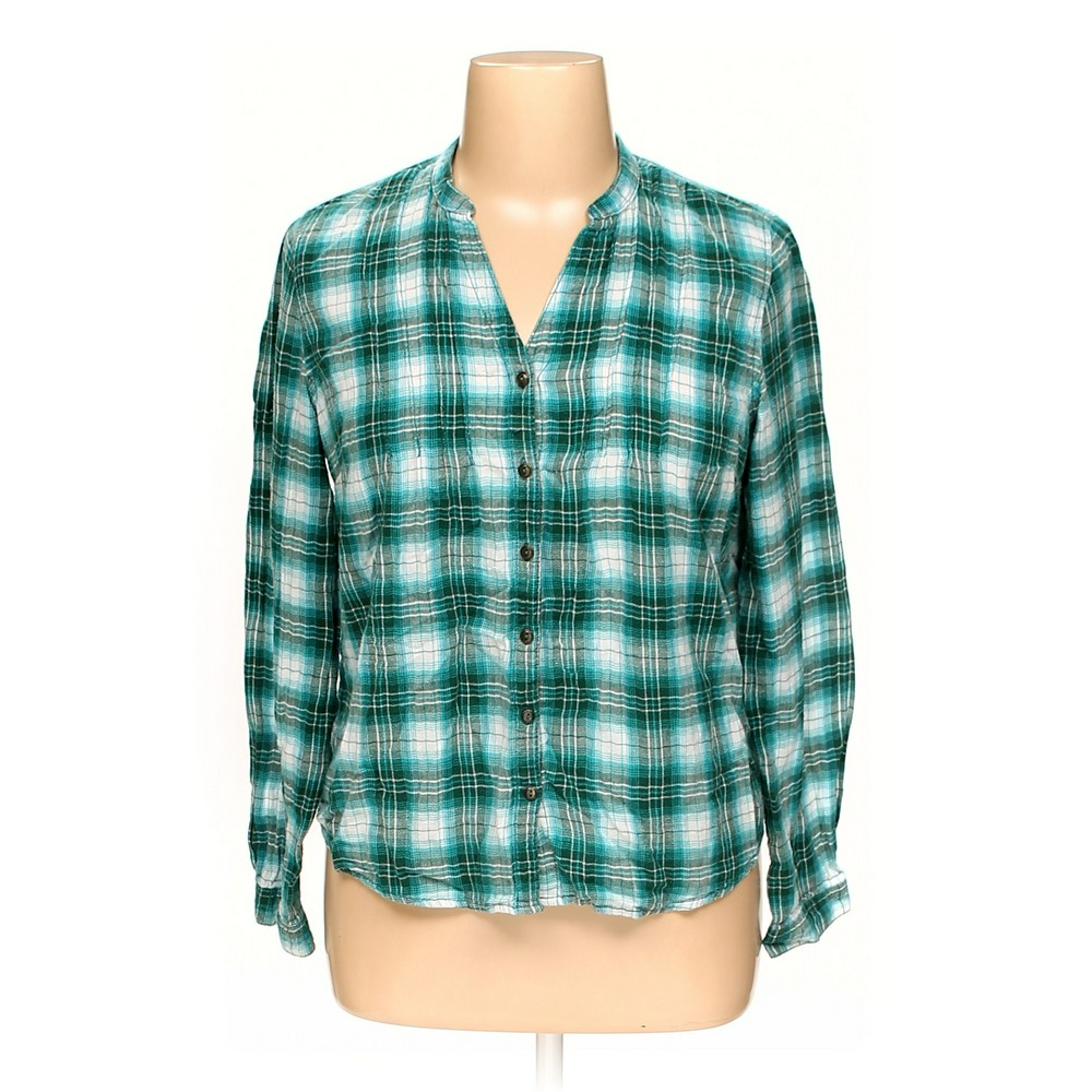 c6f4979f Faded Glory Button-up Shirt in size XL at up to 95% Off -