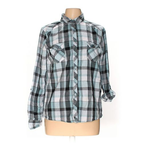 Faded Glory Button-up Shirt in size 12 at up to 95% Off - Swap.com