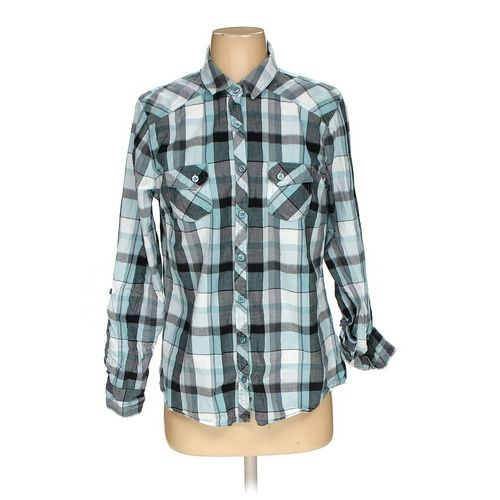 Faded Glory Button-up Shirt in size S at up to 95% Off - Swap.com