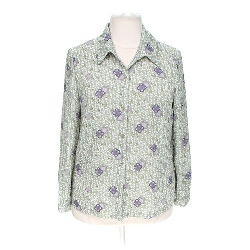 Fashion Bug Button-up Shirt in size 16 at up to 95% Off - Swap.com