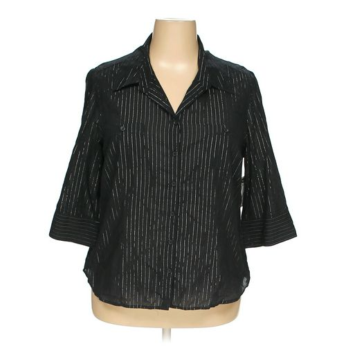 Fashion Bug Button-up Shirt in size 18 at up to 95% Off - Swap.com