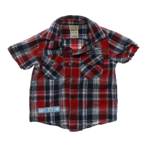 Arizona Button-up Shirt in size 24 mo at up to 95% Off - Swap.com