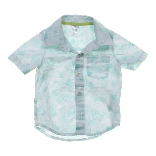 Carter's Button-up Shirt in size 12 mo at up to 95% Off - Swap.com