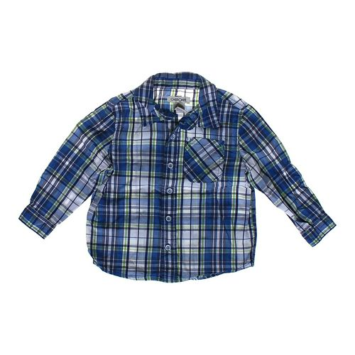 Cherokee Button-up Shirt in size 3/3T at up to 95% Off - Swap.com
