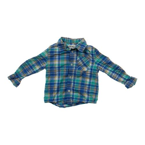 Cherokee Button-up Shirt in size 4/4T at up to 95% Off - Swap.com