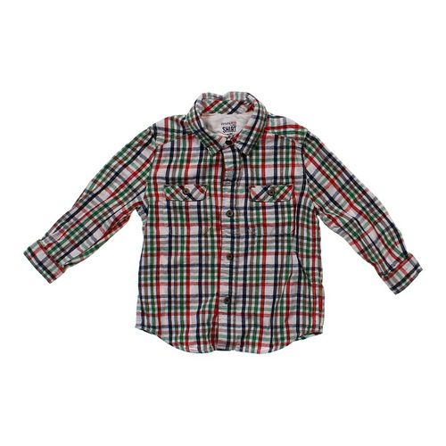 Genuine Kids from OshKosh Button-Up Shirt in size 4/4T at up to 95% Off - Swap.com