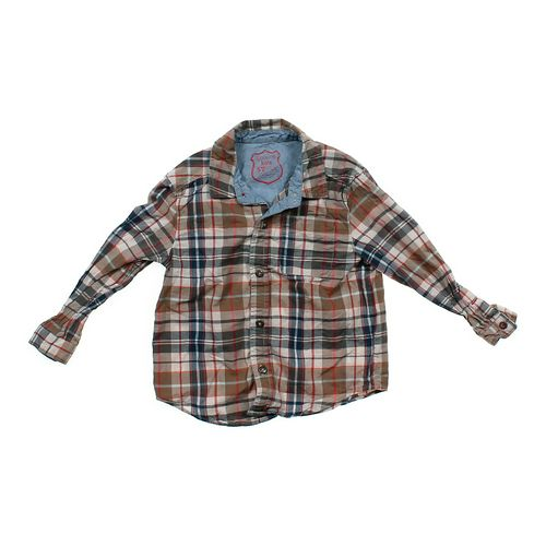 Genuine Kids from OshKosh Button-up Shirt in size 5/5T at up to 95% Off - Swap.com
