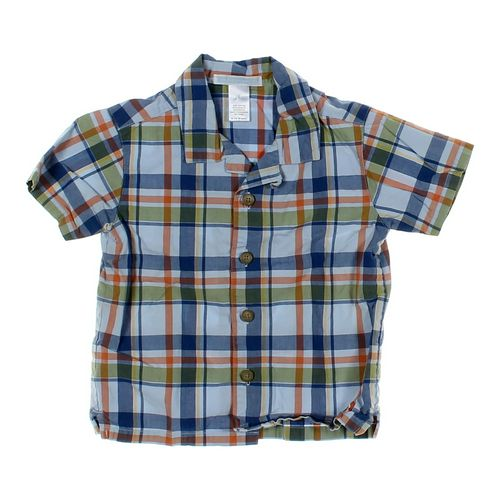Janie and Jack Button-up Shirt in size 12 mo at up to 95% Off - Swap.com