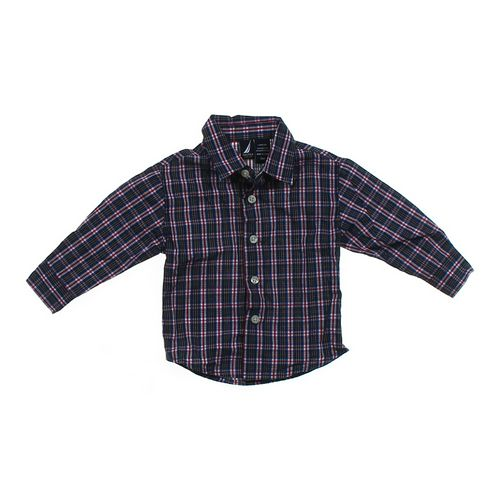 Nautica Button-up Shirt in size 12 mo at up to 95% Off - Swap.com