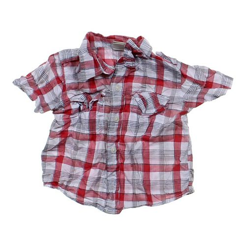 Old Navy Button-up Shirt in size 12 mo at up to 95% Off - Swap.com