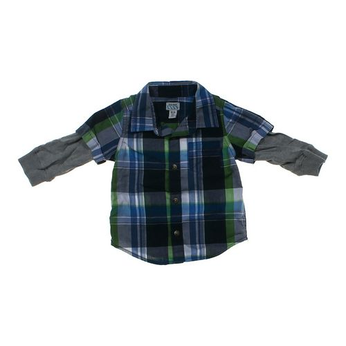 Old Navy Button-up Shirt in size 18 mo at up to 95% Off - Swap.com