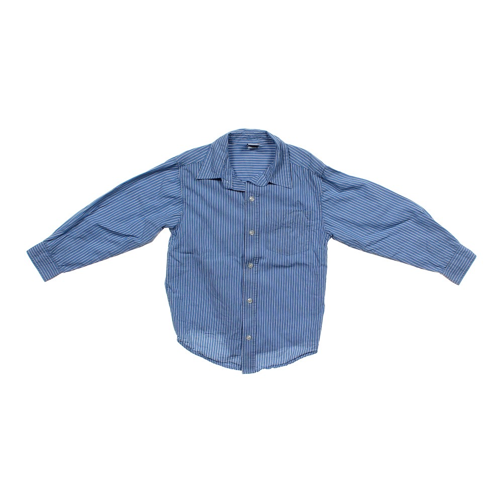 Blue Navy Old Navy Button Up Shirt In Size 6 At Up To 95