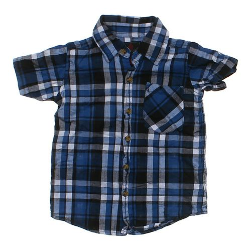 Swiss Cross Button-up Shirt in size 5/5T at up to 95% Off - Swap.com