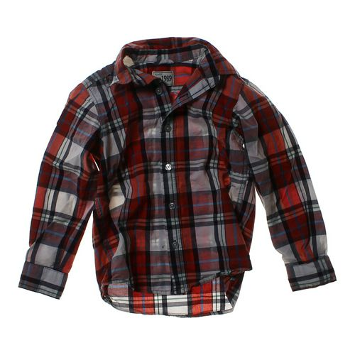 The Children's Place Button-up Shirt in size 5/5T at up to 95% Off - Swap.com