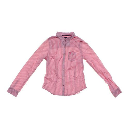 Abercrombie & Fitch Button-up Shirt in size JR 11 at up to 95% Off - Swap.com