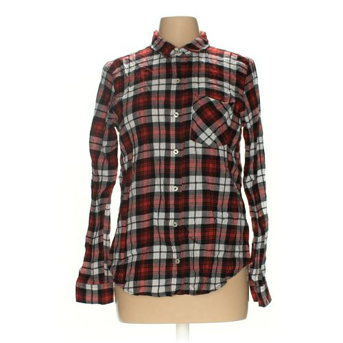 Forever 21 Button-up Shirt in size L at up to 95% Off - Swap.com