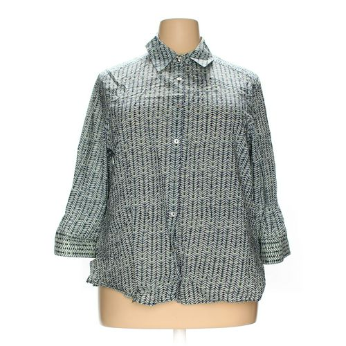 Foxcroft Button-up Shirt in size 18 at up to 95% Off - Swap.com