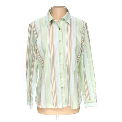 Foxcroft Button-up Shirt in size 12 at up to 95% Off - Swap.com