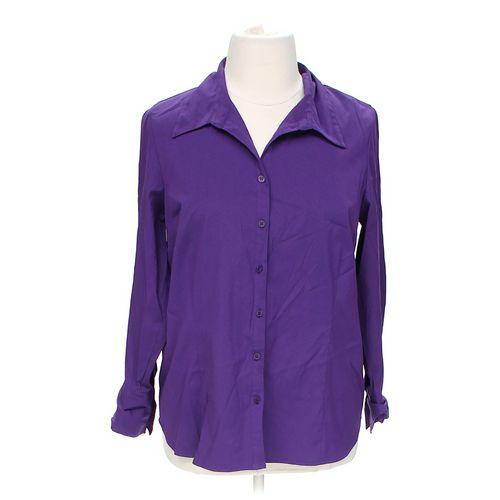 Fred David Button-up Shirt in size 1X at up to 95% Off - Swap.com