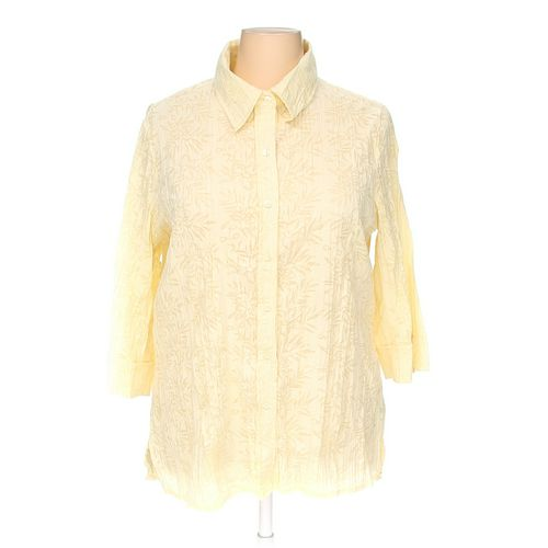 Fred David Button-up Shirt in size 2X at up to 95% Off - Swap.com