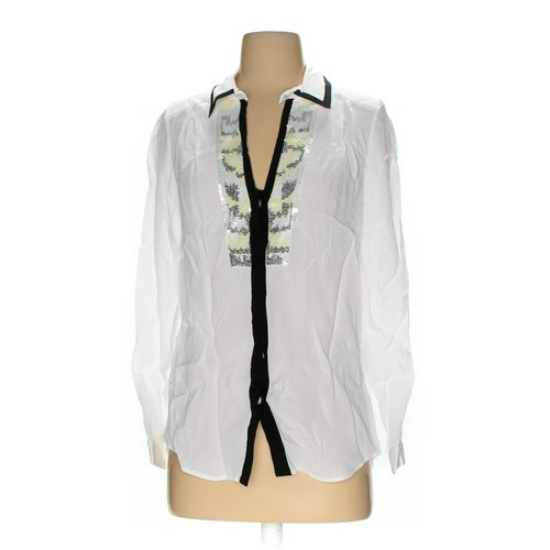 French Connection Button-up Shirt in size 2 at up to 95% Off - Swap.com