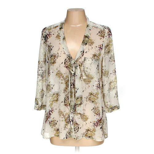 Frenchie Button-up Shirt in size M at up to 95% Off - Swap.com