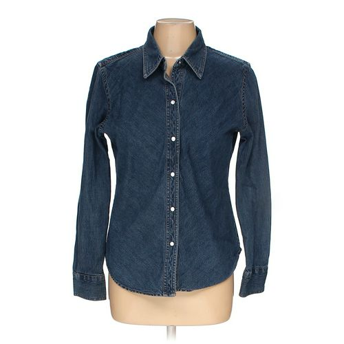 Gap Button-up Shirt in size M at up to 95% Off - Swap.com