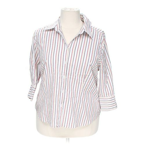 GEORGE Button-up Shirt in size 18 at up to 95% Off - Swap.com