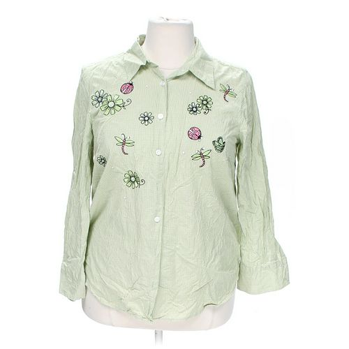 George & Martha Button-up Shirt in size 2X at up to 95% Off - Swap.com