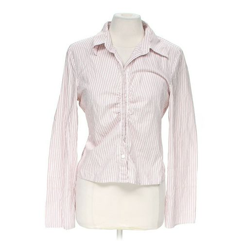 Halogen Button-up Shirt in size M at up to 95% Off - Swap.com