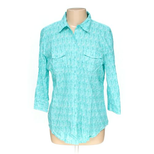 Hester & Orchard Button-up Shirt in size L at up to 95% Off - Swap.com
