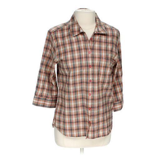 horny toad Button-up Shirt in size L at up to 95% Off - Swap.com
