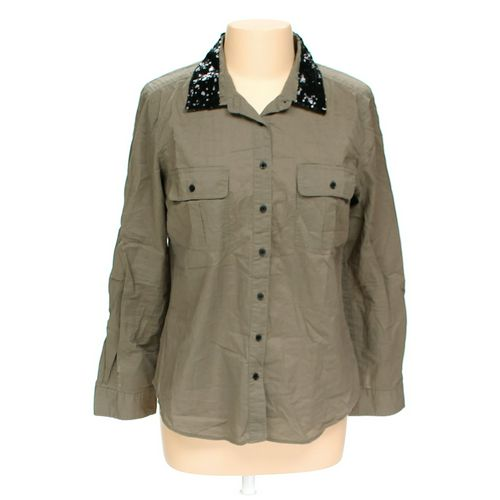 i Jeans By Buffalo Button-up Shirt in size L at up to 95% Off - Swap.com