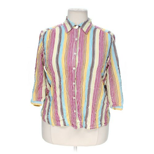 IE Relaxed Button-up Shirt in size 2X at up to 95% Off - Swap.com