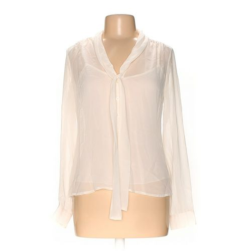 Isaac Mizrahi Button-up Shirt in size M at up to 95% Off - Swap.com