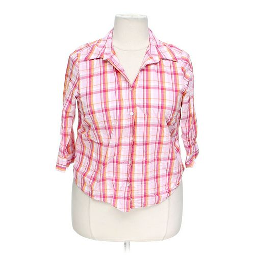 Izod Button-up Shirt in size 1X at up to 95% Off - Swap.com