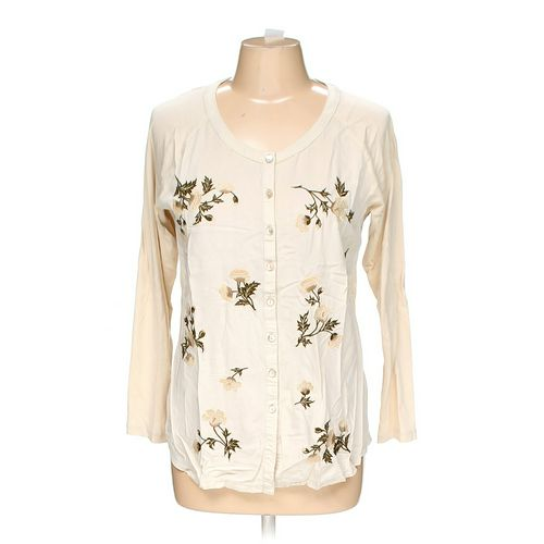 J. Jill Button-up Shirt in size M at up to 95% Off - Swap.com