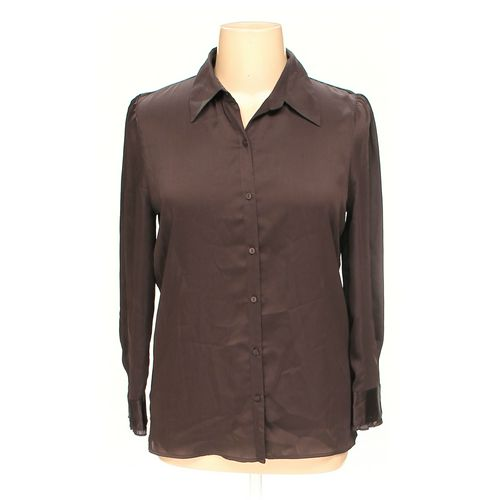 Jaclyn Smith Button-up Shirt in size 14 at up to 95% Off - Swap.com