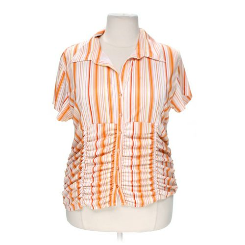 Jamie Nicole Button-up Shirt in size 3X at up to 95% Off - Swap.com