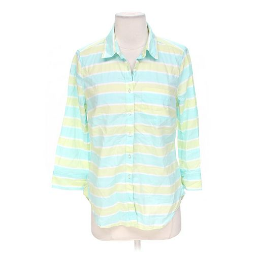 JCP Button-up Shirt in size M at up to 95% Off - Swap.com
