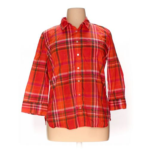 JCP Button-up Shirt in size XL at up to 95% Off - Swap.com