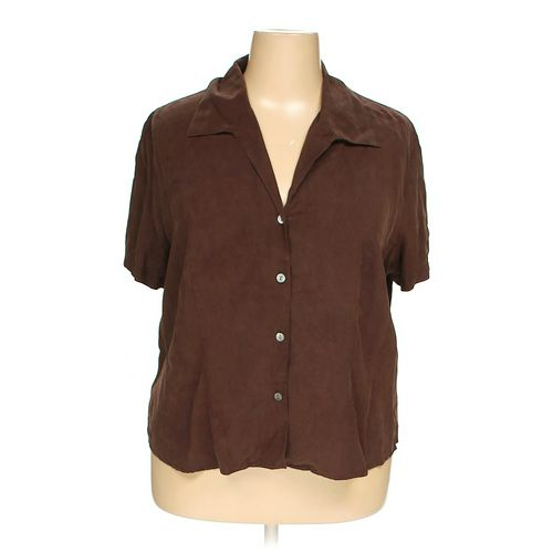 Jennifer Moore Button-up Shirt in size 20 at up to 95% Off - Swap.com