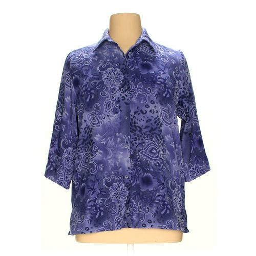 Jennifer Moore Button-up Shirt in size L at up to 95% Off - Swap.com