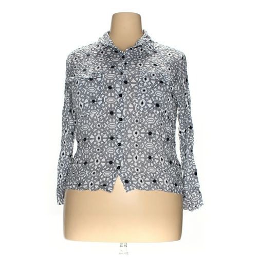 Jessica Simpson Button-up Shirt in size 1X at up to 95% Off - Swap.com