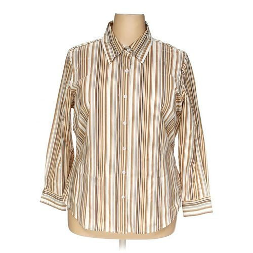 Jessie Button-up Shirt in size 1X at up to 95% Off - Swap.com