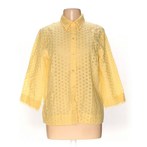 J.H. Collectibles Button-up Shirt in size L at up to 95% Off - Swap.com