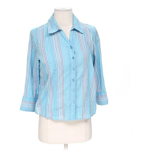 JM Collection Button-up Shirt in size 4 at up to 95% Off - Swap.com
