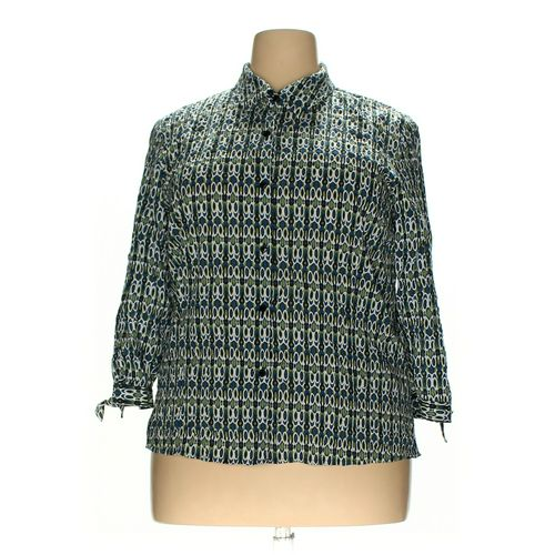 JM Collections Button-up Shirt in size 18 at up to 95% Off - Swap.com