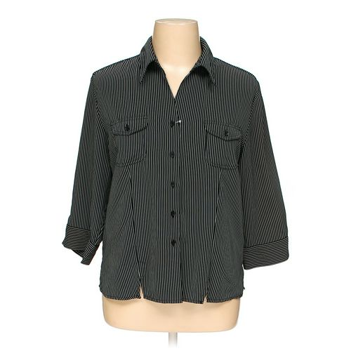 Joanna Button-up Shirt in size 1X at up to 95% Off - Swap.com