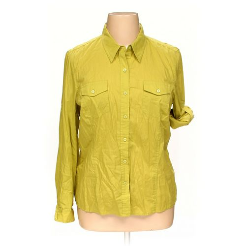 Jones New York Button-up Shirt in size XL at up to 95% Off - Swap.com